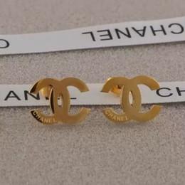 shamballa schmuck für männer Rabatt 2019 Neue Großhandelspreis Ohrringe Ohrstecker Ohrring Gold Silber G Brief Edelstahl für Frauen