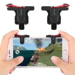 Almohadilla de juegos para móviles online-Gamepad Teléfono celular Control móvil Palanca de mando Gamer Android Controlador de control de juegos para iPhone Xiaomi Trigger For Fortnite PUBG