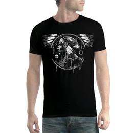 Sokotoo Herren American Flage Eagle bedruckte Jeans Trendy Hawk farbige Hose mit gemaltem Zeichnungsmuster