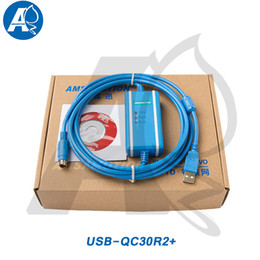 El cable de aislamiento óptico mejorado de Amsamotion USB-QC30R2 se aplica al cable de programación de PLC de la serie Q de Mitsubishi WIN2000 / WINXP / WIN7 / WIN8 desde fabricantes