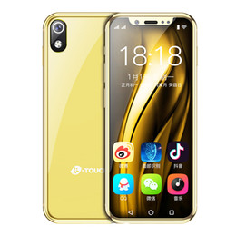 unlocked cdma smartphone Coupons - Mini Cell phones mobile android smartphone unlock I9 Android 8.1 3GB RAM 32GB ROM small dual sim original 4g lte volte china mobile phone