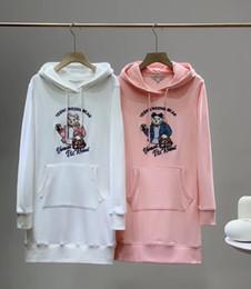 jersey di bambù Sconti 2020 nuove donne di arrivo del progettista modo dei vestiti con cappuccio di marca cappuccio di alta qualità di lusso dei vestiti dalle donne con cappuccio 2 colori YF203052 1