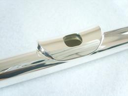 С-регулируемый 16-луночный изогнутый тип с закрытыми ячейками и никелированным флейтовым инструментом E-key от Поставщики никелевая флейта