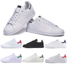 2021 scarpe sportive per le ragazze nuova moda 2019 New Casual Stan Shoes Fashion Smith Brand Top Quality Mens Womens Leather Sports Sneakers Girls Scarpe taglia EUR 36-45