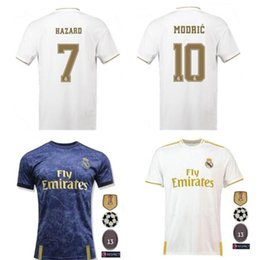 Camisetas de fútbol de bala online-PELIGRO XS-4XL Camiseta de fútbol Real Madrid Sports 19/20 Inicio MODRIC MARCELO 3rd VINICIUS JR KROOS ISCO ASENSIO BALE Camisetas de fútbol
