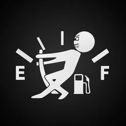 adesivo auto hellaflush Sconti Adesivo per auto divertente 1 pz Tirare il puntatore del serbatoio del carburante verso il pieno Adesivo per autoadesivo riflettente per auto Adesivi per serbatoio del carburante in vinile riflettente Hellaflush Commercio all'ingrosso