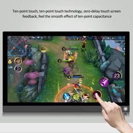 2019 tv-schaltungen P15A / P15T beweglicher 15.6 Zoll Monitor PC HDMI 1080P Art-C LED-Anzeigen-Monitor für PS4 / XBOX / Schalter / PC / Android Neue Ankunft