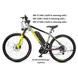 Argentina 36V 15.6Ah 17.4Ah Batería electrónica de litio para bicicleta 48V 12Ah 17.5Ah Batería para bicicleta fr 500W 750W 1000W Bafang Tongsheng Motor Suministro