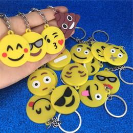 Мультфильм Emoji брелок ПВХ Emoji лицо брелок улыбка крик дерьмо брелок брелок сумка висит ювелирные изделия падение корабль 340109 supplier smiling jewelry от Поставщики улыбающиеся украшения
