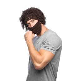 Canada Barbes de style chaud perruques hommes et femmes chapeaux à la main des chapeaux à tricoter créatif chapeaux fils créatifs automne et hiver chaud Offre