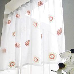 Rideaux de cuisine en dentelle en Ligne-Rideaux de café de rideau en porte de décoration à la maison courts rideaux pour la cuisine / salon dentelle demi rideau antipoussière pure