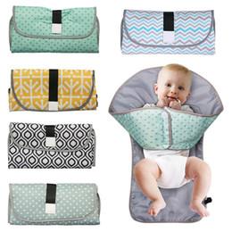 Baby  Wasserdichtem Reissverschluss Wiederverwendbare Stoff Windel Tasche S1T