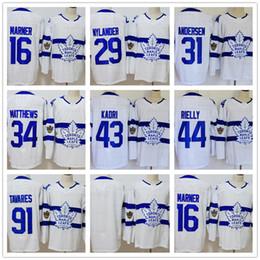 e1e819a627b Toronto Maple Leafs 16 Mitchell Marner 29 Nylander 31 Andersen 43 Kadri 44  Rielly 91 John 34 Auston 2018 Stadium Series hockey Jerseys