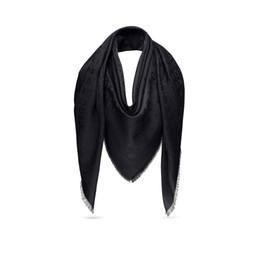La più nuova sciarpa di lusso per le donne marca Sciarpa di seta quadrata Sciarpe di seta di grandi dimensioni 140 * 140 cm nave veloce da