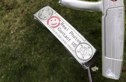 Envio Rápido Novo Modelo de Passeio Usar Apenas GSS TN2.5 Golf Putter Pesos Removíveis + Putter Headcover Real Pictures Contatar Vendedor de