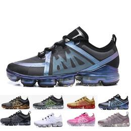 heißer neuer dampf Rabatt Hochwertige Dämpfe 2018 New Rainbow 2018 Knit Kissen Mode Athletic Hot Corss Wandern Jogging Outdoor Schuhe Größe 5,5-11