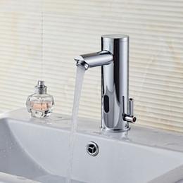 Rubinetti a infrarossi online-ITAS9999 freddo e caldo ottone senso automatico rubinetto a induzione infrarossa controllata cucina lavandino hotel servizi igienici ospedale
