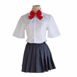 Kimi no Na wa Votre Nom Tachibana Taki et Miyamizu Mitsuha Costume Cosplay Uniforme Scolaire Costume ? partir de fabricateur