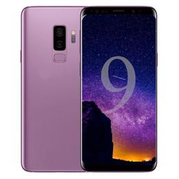 nfc смартфон Скидка Goophone S9 S9 + plus смартфоны 6.1inch 16.0MP Octa Core показано 4G LTE Android 8.0 разблокирована 3G RAM 128G Сотовые телефоны