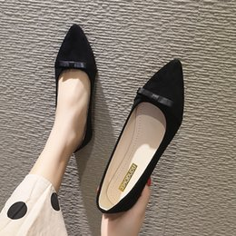 771c6e6ef939 Spring Autumn Women Flats Slip on Flat Shoes Woman Loafers Bowtie Boat Shoe  Ladies Casual Shoes zapatos mujer espadrilles H7117