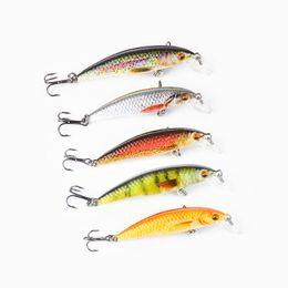 LOT 5 Hard Unpainted Crankbait mini 3cm 1.6g Blank Fishing Lure Body YG