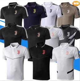 Definir camisetas de futebol on-line-POLO camisa de futebol 2019 Juventus camisas de futebol camisa polo kits 19/20 chandal RONALDO DYBALA MANDZUKIC camisas de futebol