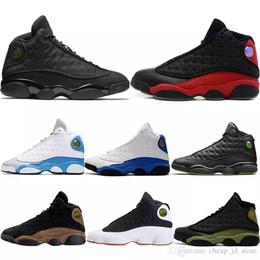 2019 zapatillas marrones Barato New 13 13s zapatos de baloncesto para hombre Bred Brown He Got Game Hologram Barons, zapatillas deportivas de mujer, zapatillas deportivas para hombre diseñador zapatillas marrones baratos