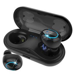 HBQ Q18 TWS MINI Drahtlose Kopfhörer Bluetooth Noise Cancelling Kopfhörer Telefon Ohrhörer Headset Mit Mikrofon Ladekoffer für iPhone X Xr von Fabrikanten