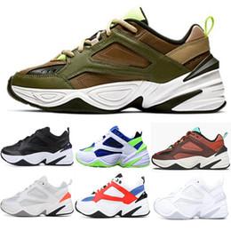 2019 Comercio al por mayor M2K Tekno Old sport zapatillas de deporte para hombres mujeres zapatillas de deporte entrenadores atléticos zapatos de diseñador al aire libre profesional 36-45 desde fabricantes