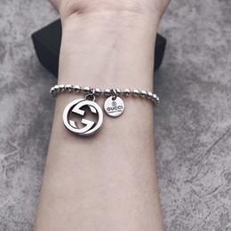 Marque 925 Sterling Argent Chaîne De Luxe gg Bracelet Minimaliste Fine designer bijoux Pour Femmes Fête D'anniversaire Accessoires Cadeau ? partir de fabricateur