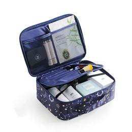 compõem caixa de vaidade Desconto 2019 Novo Profissional Vanity Cosmetic Bag Organizador Mulheres Viajar Compõem Casos de Grande Capacidade Cosméticos Malas Para Maquiagem