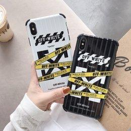2019 couverture de lapin de téléphone Fashion cas de réducteur de vitesse en noir et blanc pour iPhone 6 6s 7 8 8plus XR X couverture arrière pour Apple iphone x xr 7plus pour l'iphone xs max