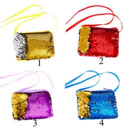 Neue Meerjungfrau Schwanz Umhängetasche für Mädchen Mini Geldbörse Umhängetaschen Sling Geldwechsel Kartenhalter Brieftasche Handtasche Tasche für Kinder Geschenke C5 von Fabrikanten