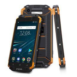 "coolpad handys Rabatt POPTEL P9000 MAX 5,5 ""FHD IP68 Wasserdichtes Handy 4 GB + 64 GB 9000mAH 13.0MP Android 7.0 MTK6750 Octa-Kern NFC OTG Smartphone"