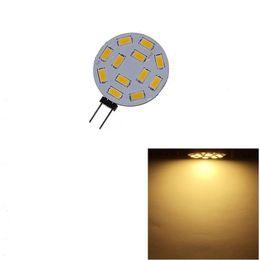 2019 lustre de cristal dc Lightme G4 12 LEDs SMD5730 DC 12 V Circular PlateLED Bi-pin Luz Para Lustre De Cristal Levou Lâmpada de Iluminação Lâmpada de 120 Graus Frete Grátis desconto lustre de cristal dc