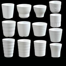 рестораны воды Скидка Меламин чашка Белая питьевая вода чашка столовая ресторан посуда Японский стиль тумблеры чашка чая Оптовая QW9629