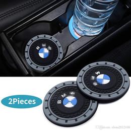 2 Adet 2.75 inç Araç İç Aksesuar Karşıtı için Kupa Mat Kayma BMW X1 / 340i / 325xi / M3 / M4 için nereden