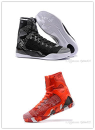 Nouveau 2018 gros Kobe KB 9 IX élite Black Black Mamba Blackout haut décontracté Chaussures de sport chaussures de formation taille EUR 40-46 ? partir de fabricateur