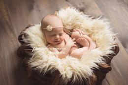 mois année accessoires bébé Promotion 2019 Accessoires de photographie d'enfant pour bébé emmaillotés en gros Photo Studio Couvertures photographiques Couvertures photographiques Couvertures photographiques pour bébé de 100 jours