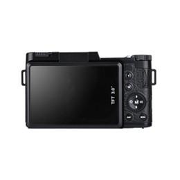 vetri bagnati Sconti Display LCD professionale da 3,0 pollici Videocamera digitale 1080P Videocamera digitale con zoom rotante da 24 MP con schermo rotante da 24 MP Nero