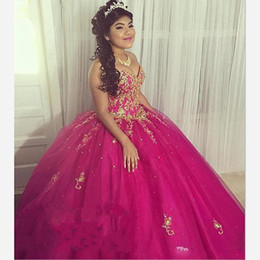 Strapless Applique Beaded Quinceanera Dresses Prom Ball Gowns 2020 Lace Up Tulle Sequin Draped Vestidos De Novia Sweet 16 Dress