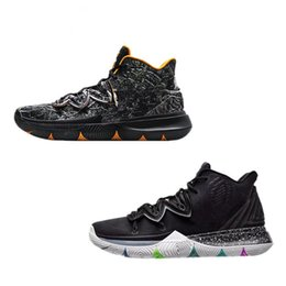 b8fccdd391c 2018 New Kyrie5 V Irving 5 Low Taco Black Magic Multicolor Basketball Shoes  for High quality 5s Trainers Mens Sports Sneakers Size 40-46