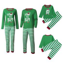 fils fille mère correspondant vêtements Promotion Ensemble de vêtements de famille assortis 2019 Nouvel an Noël Pyjamas de famille Vêtements assortis Mère Fille Père Fils Famille Vêtements de nuit