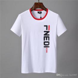 kleid t-shirts Rabatt New Fashion Sales Brand Logo Kleidungsstück Hals Farbe gedruckt Baumwollhemd Herren T-Shirt Damen T-Shirt Hohe Qualität Alle Baumwolle Größe M