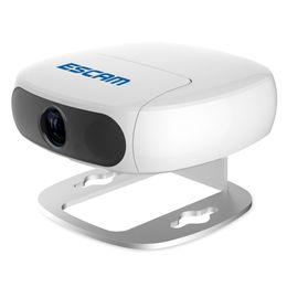 Telecamere ir cut online-ESCAM Shell QN01 1080P Telecamera IP wireless IR-CUT per visione notturna con rilevazione di movimento