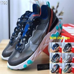 6d9deb657476 Epic React Element 87 Undercover Men Running Shoes For Women Designer  Sneakers Sports Mens Trainer Shoes Sail Light Bone With shoe box