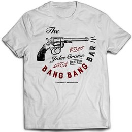 Bang Bang Bar Twin Peaks One Eyed Jacks camiseta Divertido envío gratis Unisex Casual desde fabricantes