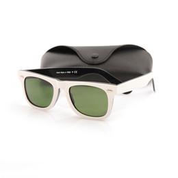Prank de alta qualidade mens óculos de sol óculos de lentes de vidro uv400 proteção óculos de sol moda womens óculos de sol unissex óculos de marca óculos de sol de Fornecedores de óculos estilo mod