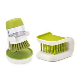 Coltello e forchetta Posate Pan Piatto Scovolino Spazzola con serbatoio detergente Utensili puliti da cucina da