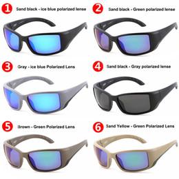 Cartaz dos peixes on-line-TR90 polarizada Marca Designer Sunglasses Homem e mulheres de luxo óculos polarizados Praia Espelho Poster Óculos Mar Óculos de Sol Surf pesca
